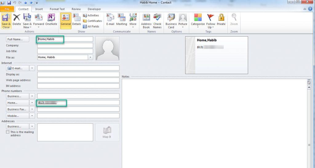 CallBlockingContact-OutlookHome