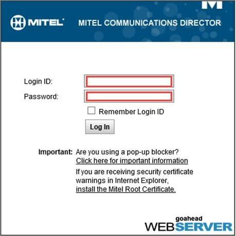 Direct SIP Integration between Mitel Communications Director (MCD