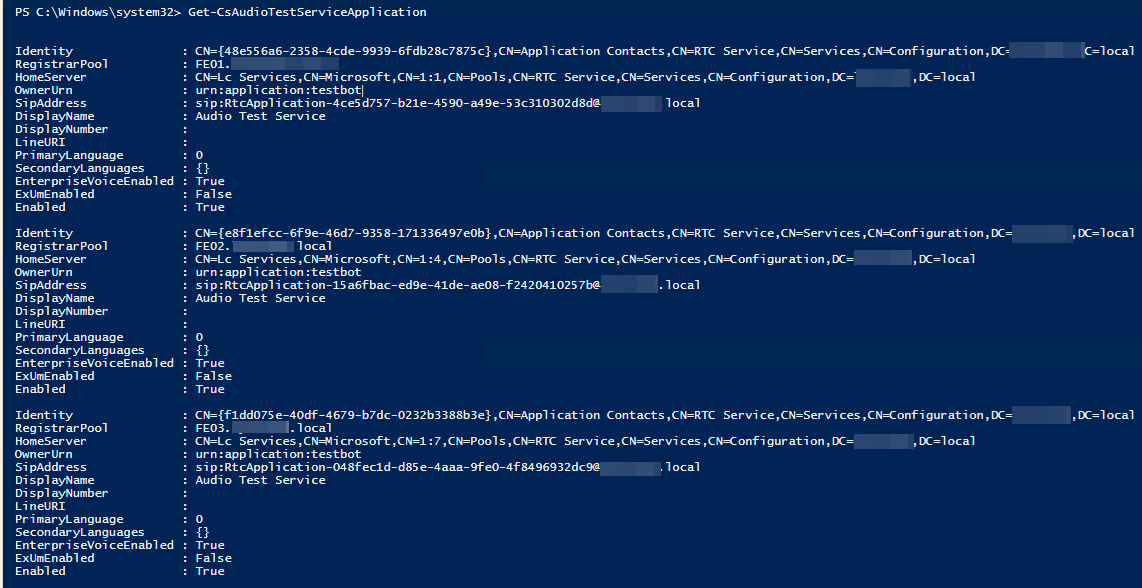 Lync 2013 - Audio Test Service Failed to start after SIP domain